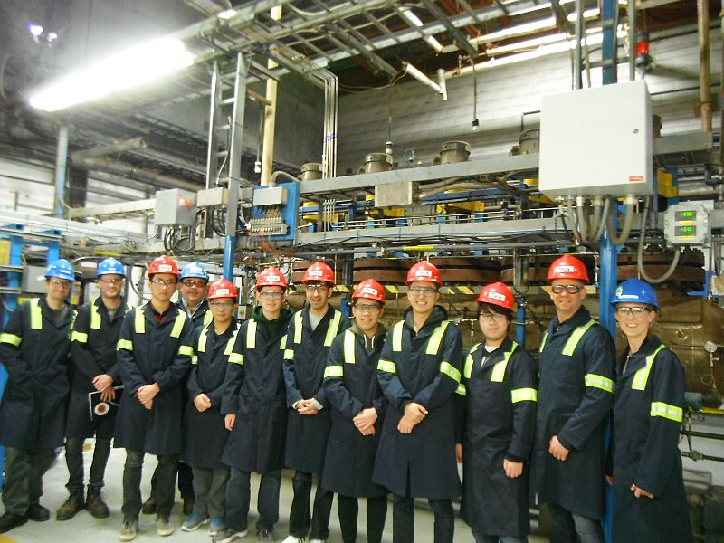 BNS Students & Teachers visiting Tech Refinery