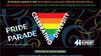 Burnaby School District will be hosting a float in the 2017 Vancouver Pride Parade. All students, parents & staff are invited to come and celebrate diversity with us. Join us […]