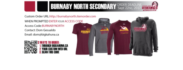 Athletics clothing may now be ordered from the online store.The sale closing date is September 22, 2017. Please note any late orders will not be accepted to ensure delivery deadlines […]