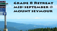 Grade 8 Retreat Info & Consent form (.pdf) –Return the signed permission form to your PHE Teacher by Sept. 11, 2018 On Tuesday September 18th, Grade 8 students will have an […]