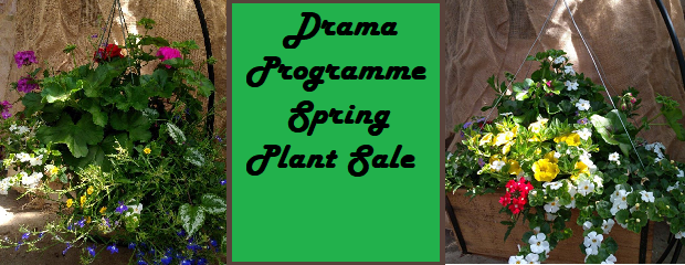 Orders due Tuesday April 23, 2019. Pick-up Thursday May 9, 2019. Download the Order Form:Drama Fundraiser Spring Plants from LIttle Mountain Greenhouse Return forms (with payment) to The Office (114–attention […]