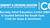 The Burnaby North Secondary School campus is the new location for the North Burnaby Adult Education Centre (NBAEC). How to Find the NBAEC on Campus The NBAEC Office is located […]