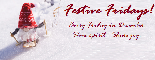 Student Government is proud to present Festive Fridays! Get into the holiday spirit by participating in a school wide spirit days happening every Friday of December! Dec. 6–Flannel Friday– Be […]