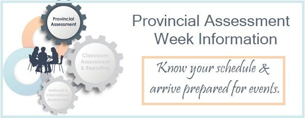 Welcome to Assessment Week! The school calendar changed this year to include a Provincial Assessment Week. The Assessment Week runs from January 21st to January 24th. Regularly scheduled classes are […]