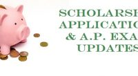 Hey Grads! It's been a time of change recently and there have been some adjustments to scholarship application processes and AP Exam info. Check out the current updates from Ms […]
